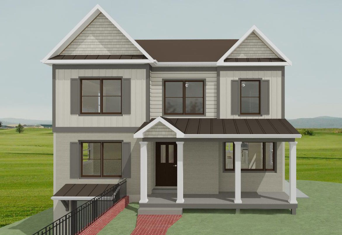 Sneak Peek At This Dc Second Story Addition Tabor Design Build